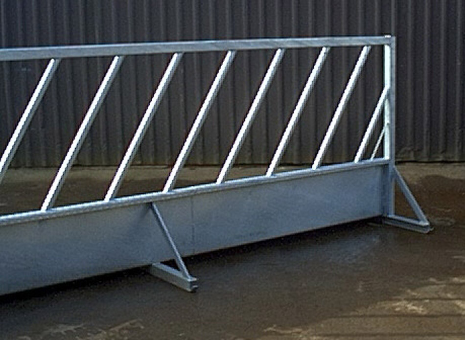 Free Standing Concrete Silage Panels Bespoke Concrete